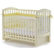 Детская кроватка Верес Соня ЛД10 маятник, Слоновая кость