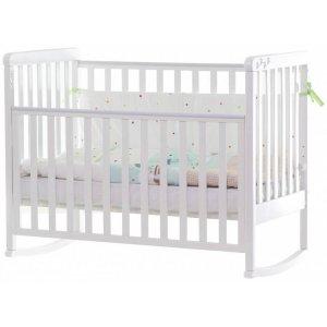 Детская кроватка Верес Соня ЛД12 Лапки, Белая