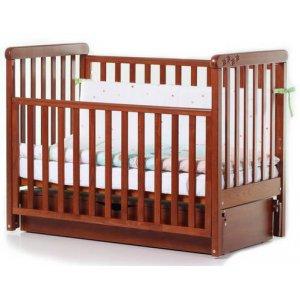 Детская кроватка Верес Соня ЛД12, Ольха декор