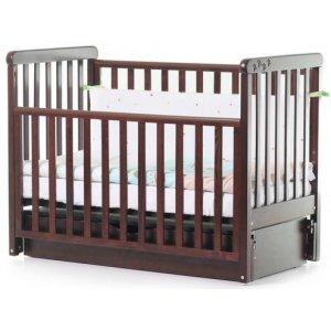 Детская кроватка Верес Соня ЛД12, Орех