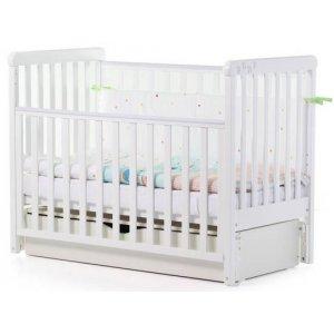Детская кроватка Верес Соня ЛД12, Белый декор