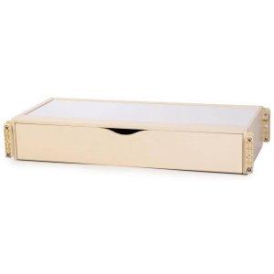 Маятниковый механизм Верес для кроваток ЛД12 продольный с ящиком, Слоновая кость