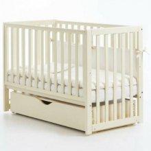Детская кроватка Верес Соня ЛД13 маятник с ящиком, Слоновая кость