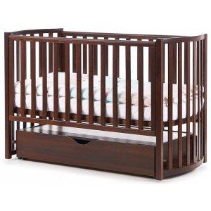 Детская кроватка Верес Соня ЛД14, Орех