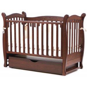 Детская кроватка Верес Соня ЛД15, Орех