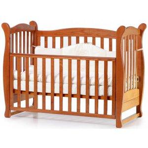 Детская кроватка Верес Соня ЛД15 без маятника, Ольха