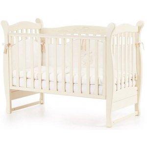 Детская кроватка Верес Соня ЛД15 без маятника, Слоновая кость