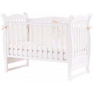 Детская кроватка Верес Соня ЛД15 без маятника, Белый