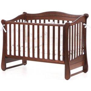 Детская кроватка Верес Соня ЛД18 без колес, Орех