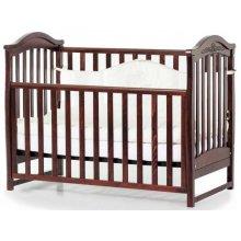 Детская кроватка Верес Соня ЛД3 без ящика, Орех