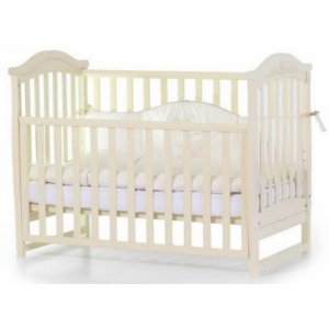 Детская кроватка Верес Соня ЛД3 без ящика, Слоновая кость