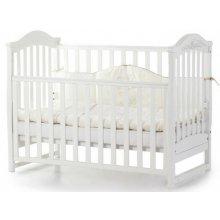 Детская кроватка Верес Соня ЛД3 без ящика, Белый