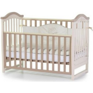 Детская кроватка Верес Соня ЛД3 без ящика, Капучино