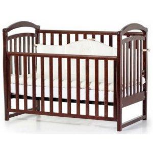 Детская кроватка Верес Соня ЛД6 без ящика, Орех