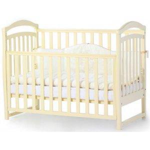 Детская кроватка Верес Соня ЛД6 без ящика, Слоновая кость