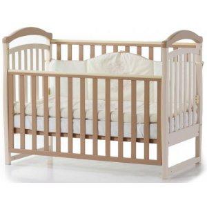 Детская кроватка Верес Соня ЛД6 без ящика, Капучино